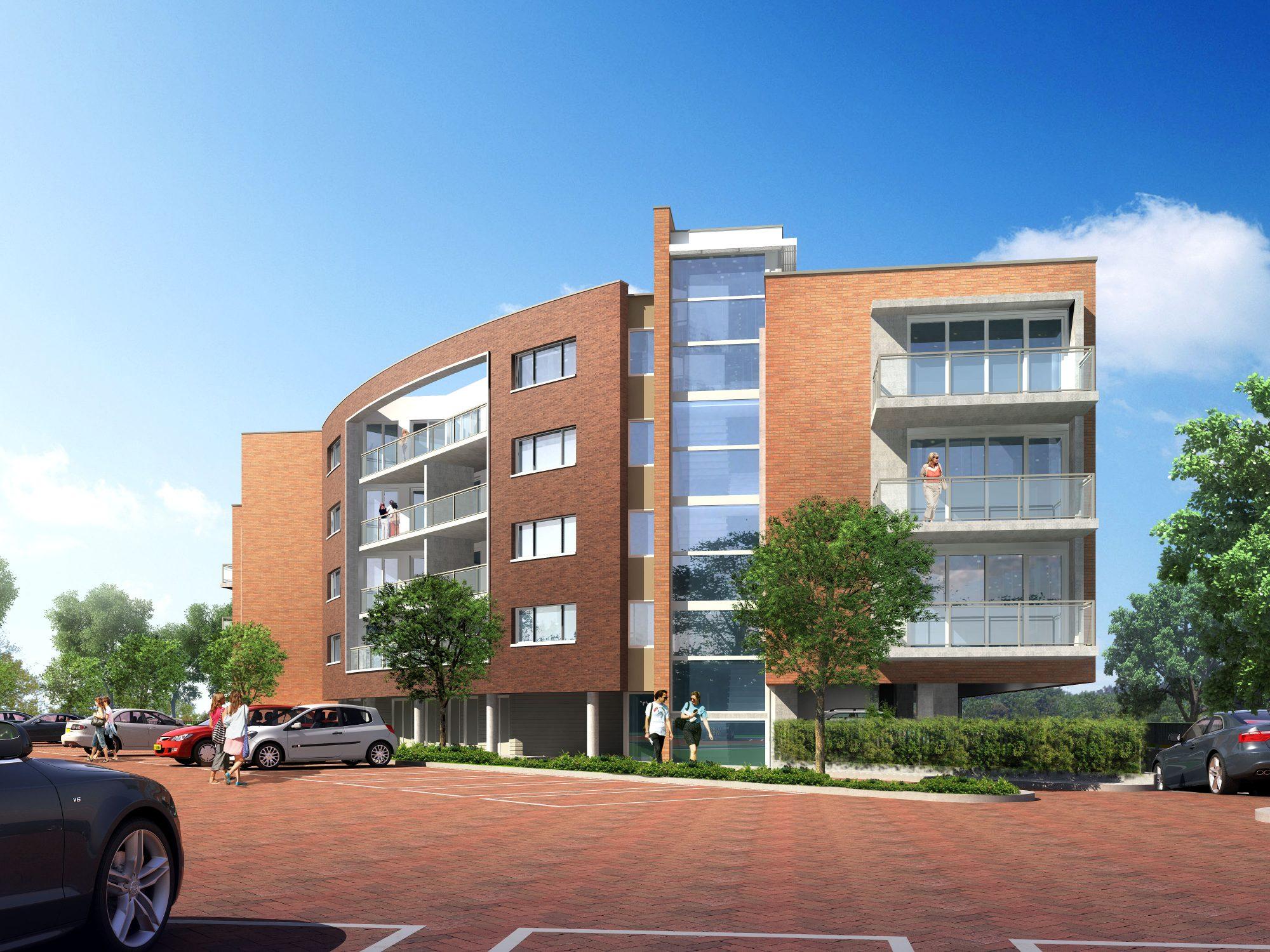 Luxe appartementen De Driehoek te Waddinxveen