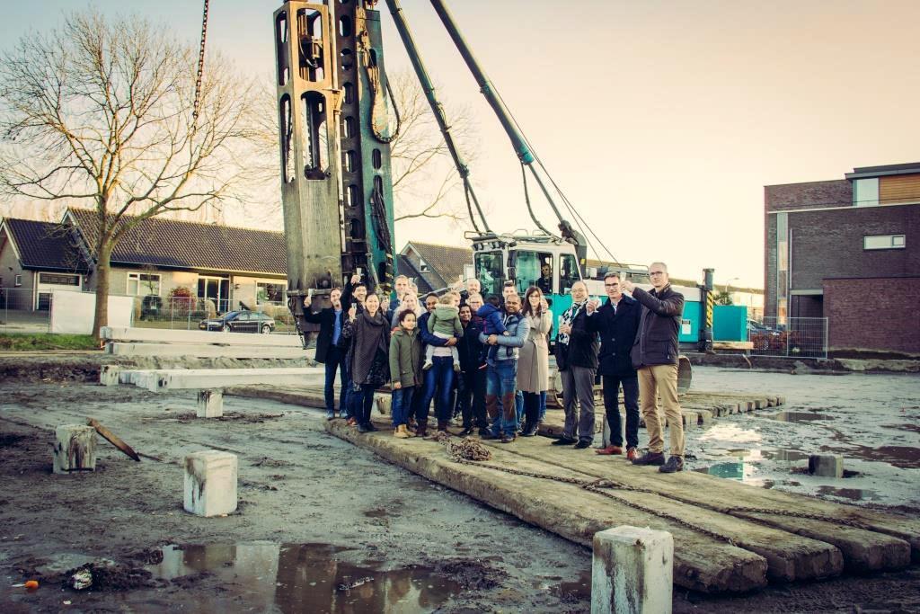 Bouw 7 woningen Noordpark Exclusive in Waddinxveen officieel gestart 1