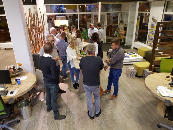Gezellige kopersbijeenkomst van het project Sedum Gorinchem bij Leuk! Makelaars
