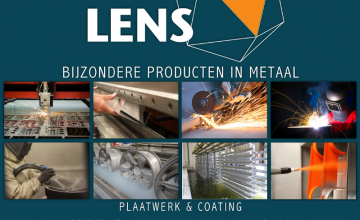 Nieuwbouw bedrijfshal Lens te Rotterdam