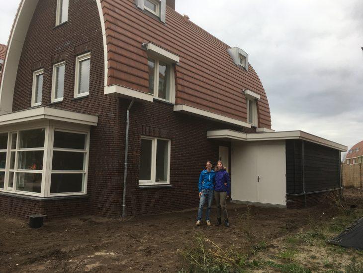 Wij feliciteren Thijs en Ellen met de oplevering van hun nieuwe woning.