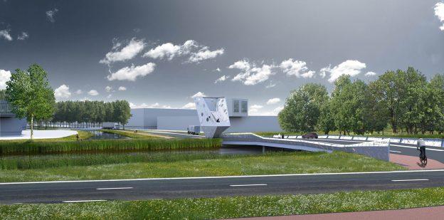 Nieuwbouw geschakelde bedrijfsunits Hopperweg Kickersbloem 3 in Hellevoetsluis 1