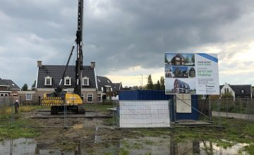 Heiwerk woningen Noordkade Waddinxveen en Land van Matena Papendrecht van start! 2