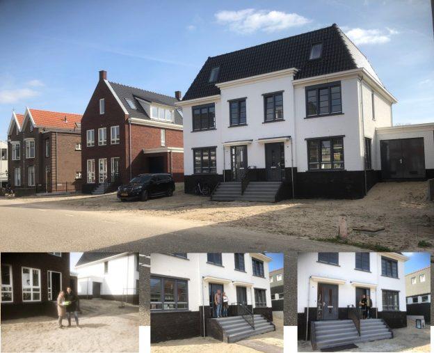 Eerste 3 woningen Heeren van Merwe opgeleverd!