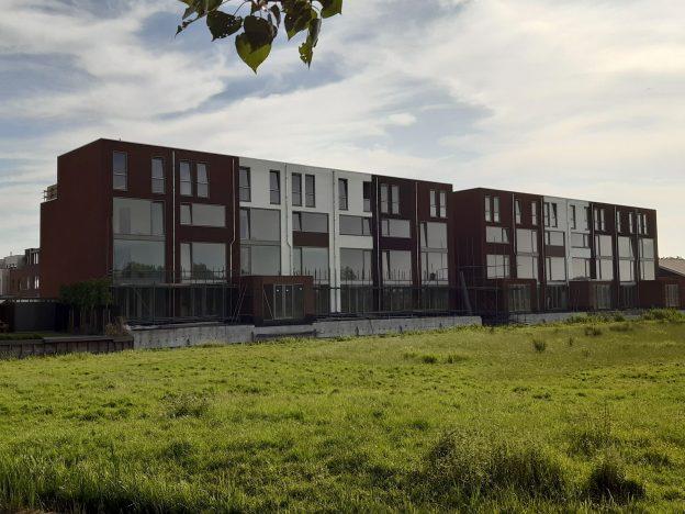4-laagse woningen 'The Taste' Waddinxveen worden verder afgewerkt 2