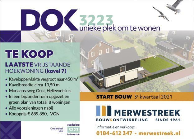 Nog 1 vrijstaande woning  project Dok 3223 te Hellevoetsluis te koop! 1