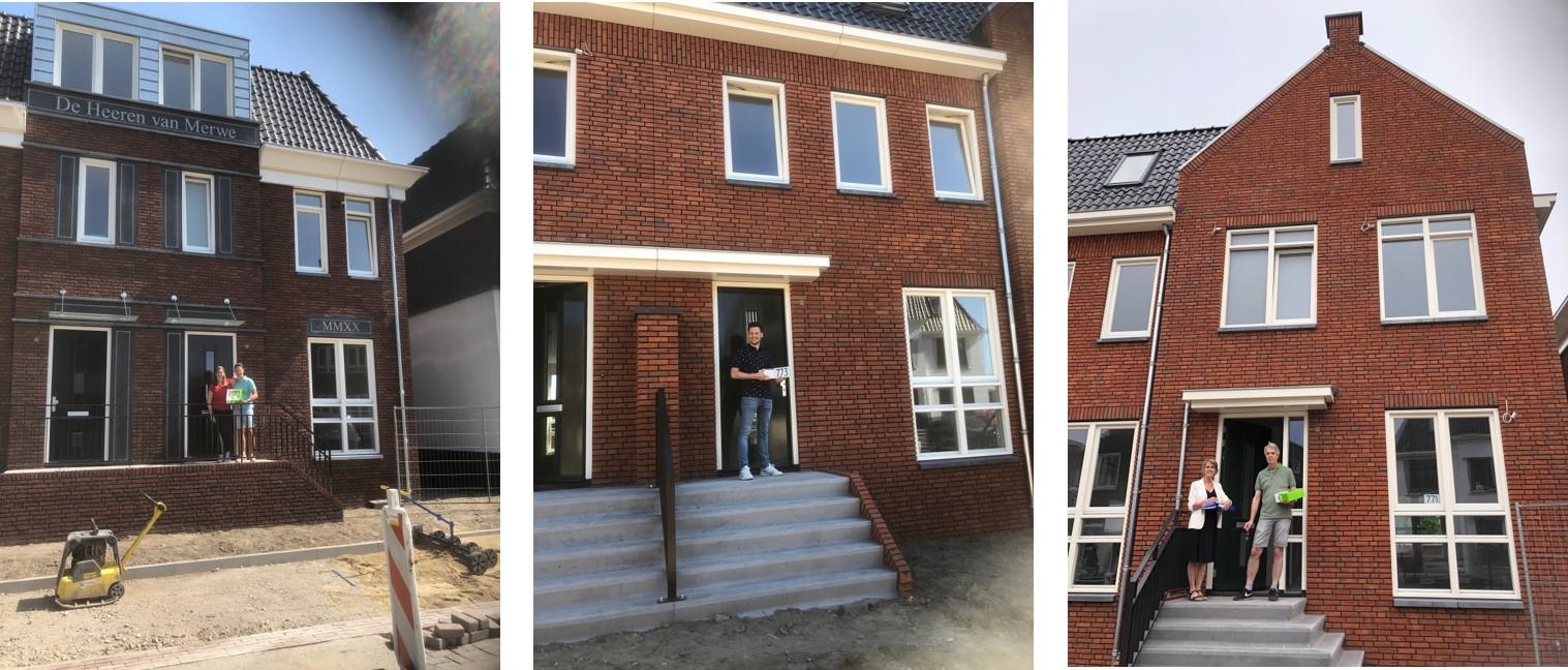 5 woningen Heeren van Merwe opgeleverd!